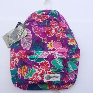Eastpak Caprolan Nylon Backpack Deadstock 90s Purp